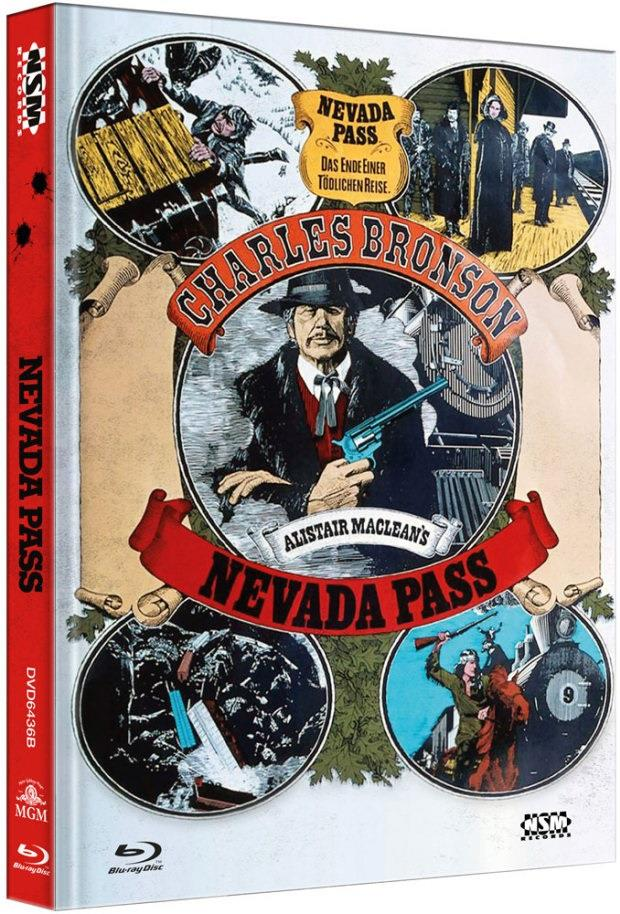 Nevada Pass (1975) (Cover B, Collector's Edition, Limited Edition, Mediabook, Blu-ray + DVD)
