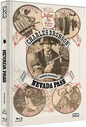 Nevada Pass (1975) (Cover C, Collector's Edition, Limited Edition, Mediabook, Blu-ray + DVD)
