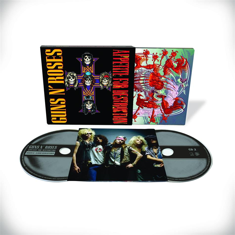 Guns N' Roses - Appetite For Destruction (Deluxe Edition, Remastered, 2 CDs)