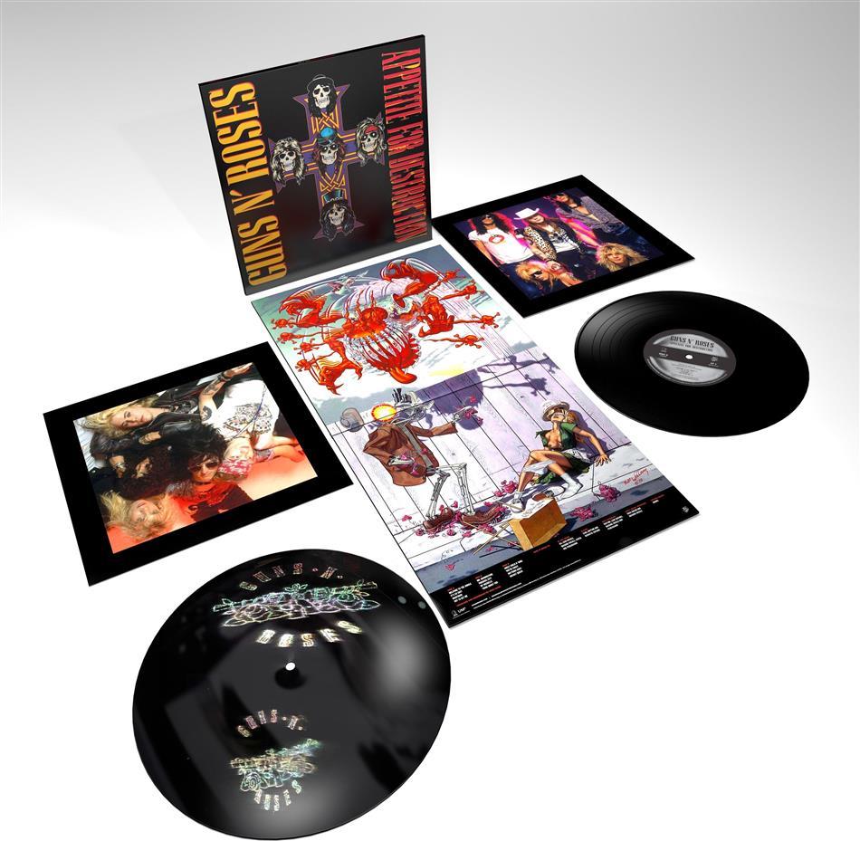 Guns N' Roses - Appetite For Destruction (Limited Edition, Remastered, 2 LPs + Digital Copy)