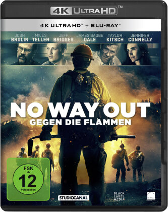 No Way Out - Gegen die Flammen (2017) (4K Ultra HD + Blu-ray)