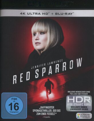 Red Sparrow (2017) (4K Ultra HD + Blu-ray)