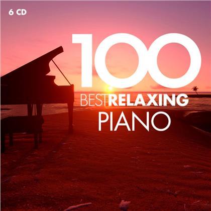 Bertrand Chamayou, Maria Joao Pires, Aldo Ciccolini, Hélène Grimaud, Daniel Barenboim, … - 100 Best Relaxing Piano (6 CDs)