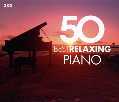 Bertrand Chamayou, Nikolai Lugansky, Maria Joao Pires, Hélène Grimaud & Daniel Barenboim - 50 Best Relaxing Piano (3 CDs)