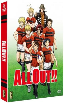 All Out!! - Intégrale (Collector's Edition, 5 DVDs)