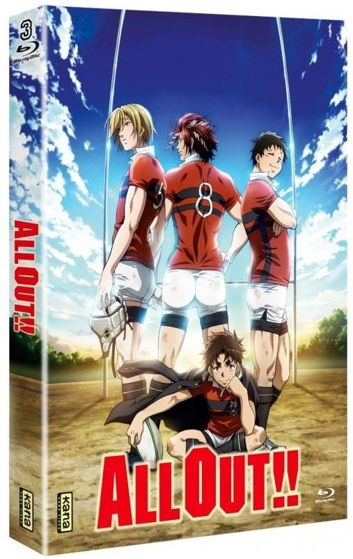 All Out!! - Intégrale (Collector's Edition, 3 Blu-rays)