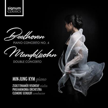 Min-Jung Kim, Ludwig van Beethoven (1770-1827) & Felix Mendelssohn-Bartholdy (1809-1847) - Piano Concerto No.4 / Double Concerto