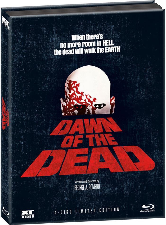 Dawn of the Dead (1978) (Limited Edition, Mediabook, 4 Blu-rays)