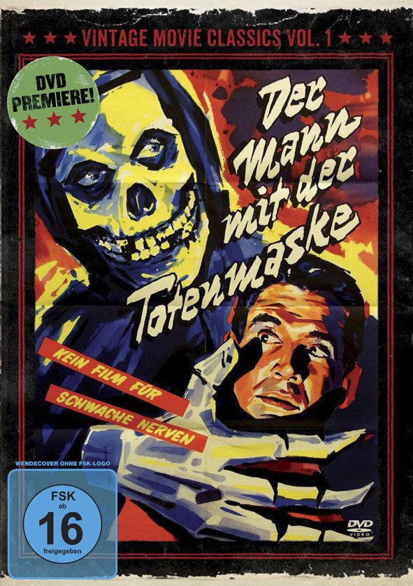 Der Mann mit der Totenmaske (1946) (Vintage Movie Classics, s/w, Limited Edition)
