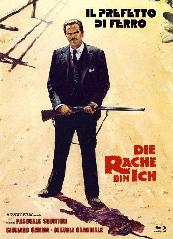 Die Rache bin ich - Il prefetto di ferro (1977) (Cover A, Eurocult Collection, Limited Edition, Mediabook, Uncut, Blu-ray + DVD)