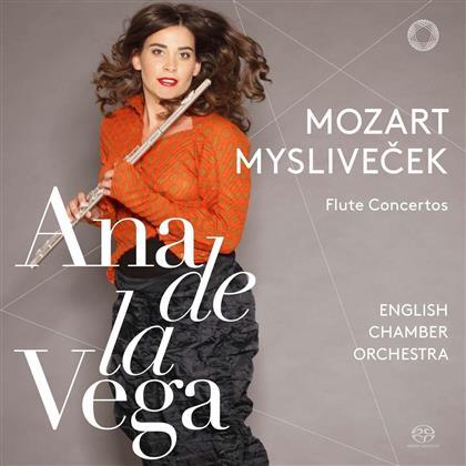 Wolfgang Amadeus Mozart (1756-1791), Josef Myslivecek (1737-1781) & Ana de la Vega - Flute Concertos (SACD)