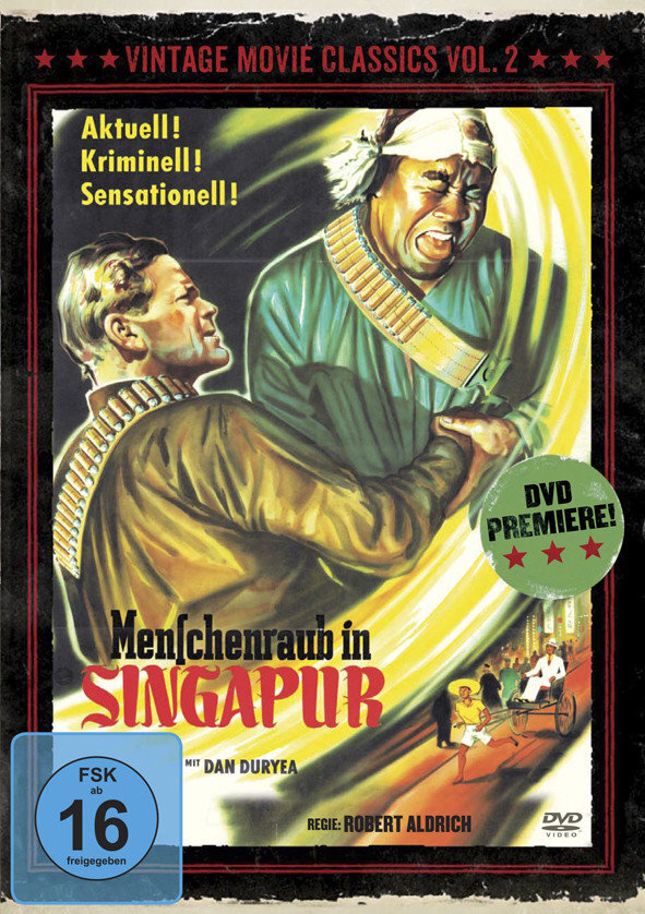 Menschenraub in Singapur (1954) (Vintage Movie Classics, s/w, Limited Edition)