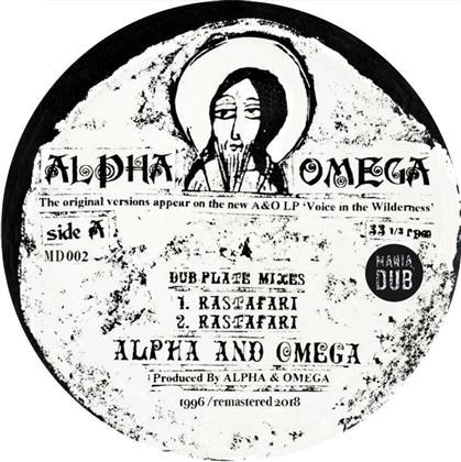 "Alpha & Omega - Rastafari / Words Of Thy Mouth (10"" Maxi)"