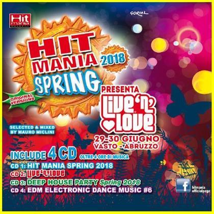 Hit Mania Spring 2018 (4 CDs)