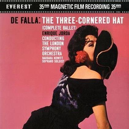 Manuel de Falla (1876-1946), Enrique Jorda & London Symphony Orchestra - The Three-Cornered Hat (2 LPs)