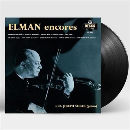 Mischa Elman & Joseph Seiger - Elman - Encores (LP)