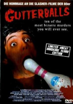 Gutterballs (2008) (Grosse Hartbox, Cover B, Hardcore Blood Edition, Collector's Edition, Limited Edition, Special Edition, Uncut)
