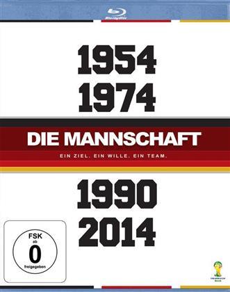 Die Mannschaft - 1954 / 1974 / 1990 / 2014