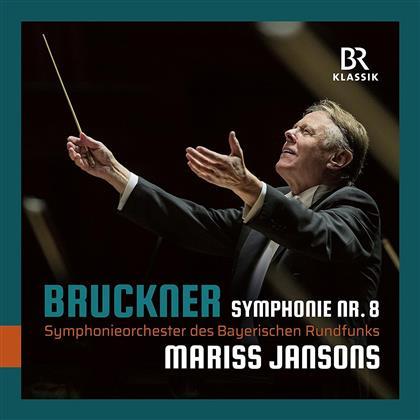 Anton Bruckner (1824-1896), Mariss Jansons & Symphonieorchester des Bayerischen Rundfunks - Symphonie Nr. 8
