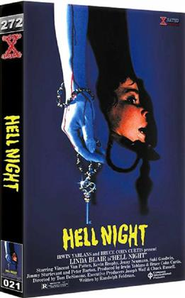 Hell Night (1981) (Grosse Hartbox, Cover B, Uncut)