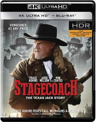 Stagecoach - The Texas Jack Story (2016) (4K Ultra HD + Blu-ray)