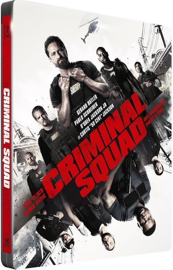 Criminal Squad (2018) (Director's Cut, Steelbook)