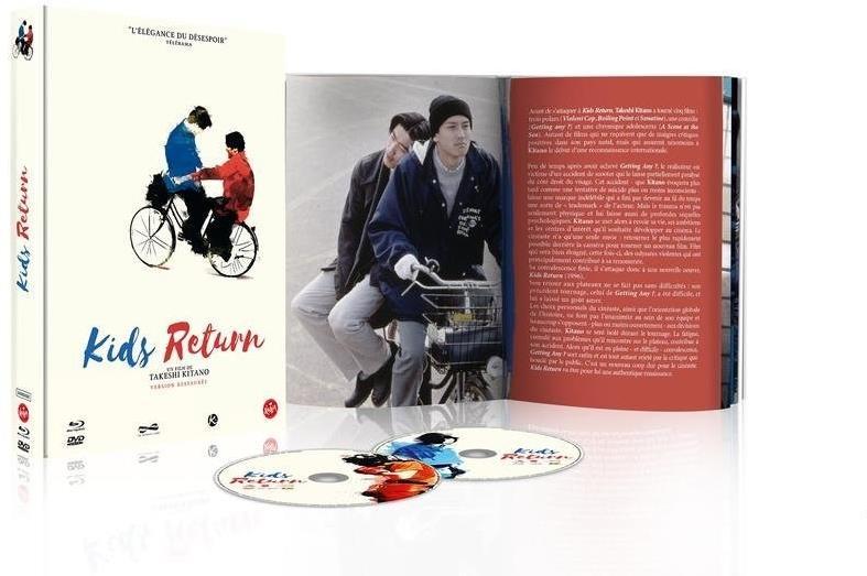 Kids Return (1996) (Digibook, Limited Edition, Blu-ray + DVD)