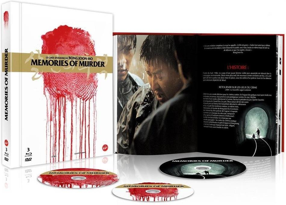 Memories of murder (2003) (Edition Collector, Digibook, Blu-ray + DVD + Buch)