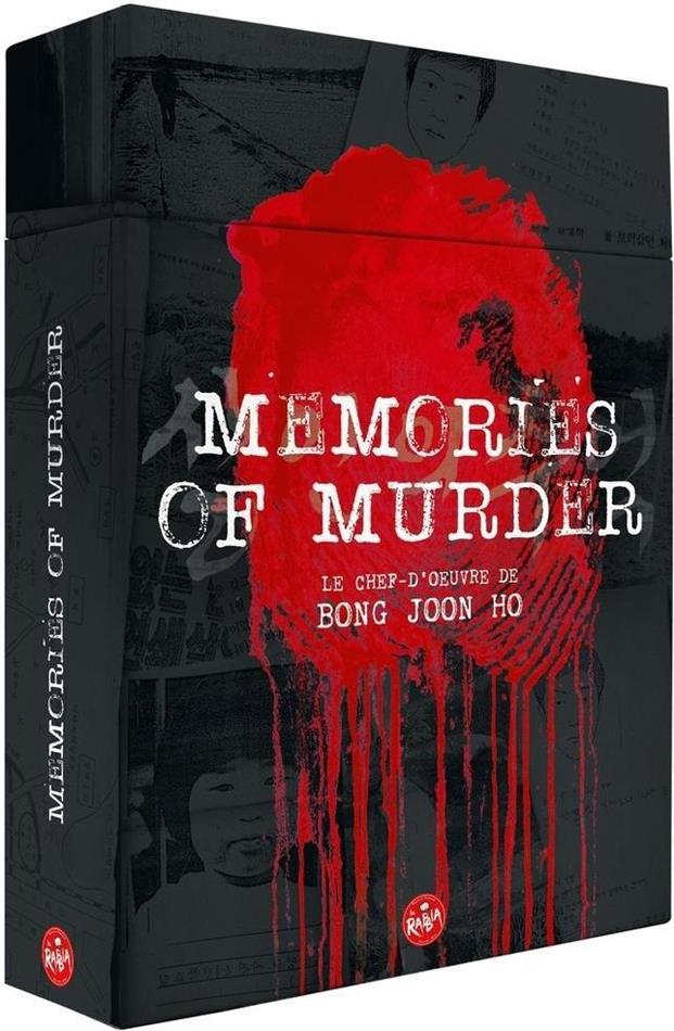 Memories of murder (2003) (Limited Edition, Blu-ray + 2 DVDs + Buch)