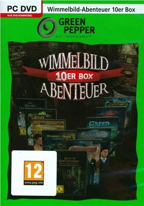 Green Pepper - Wimmelbild 10er Box Abenteuer