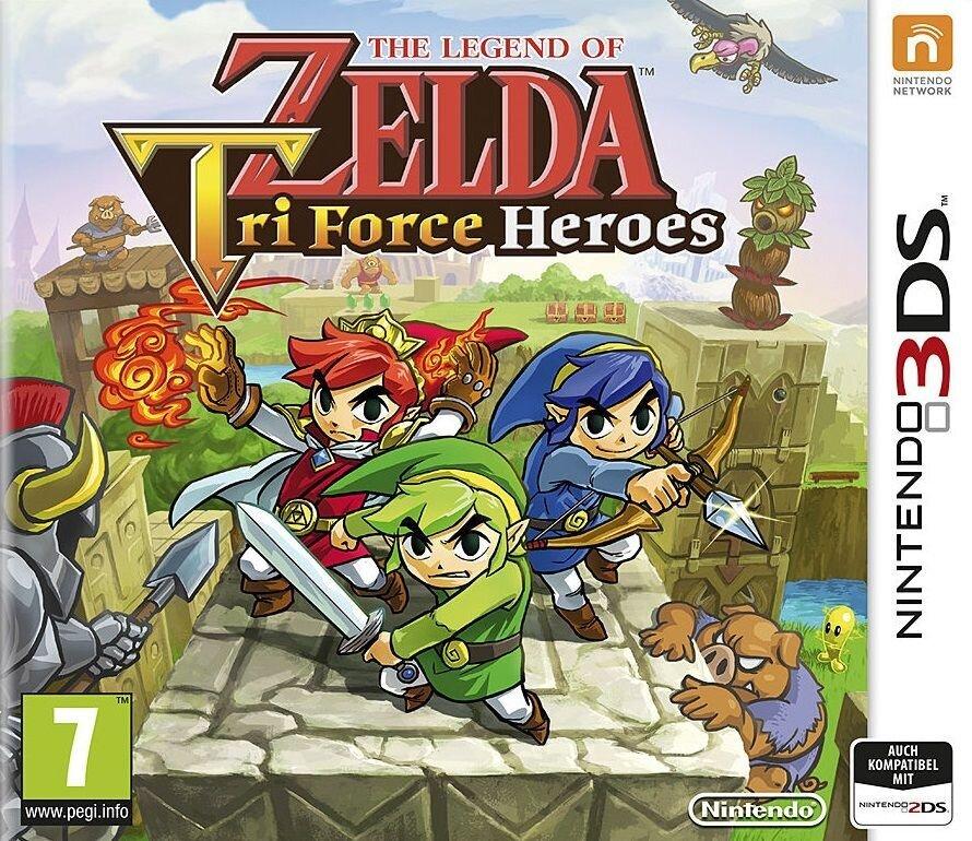 The Legend of Zelda - TriForce Heroes