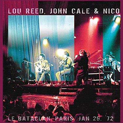 John Cale, Nico & Lou Reed - Le Bataclan - Paris 29.01.1972 (3 LPs)