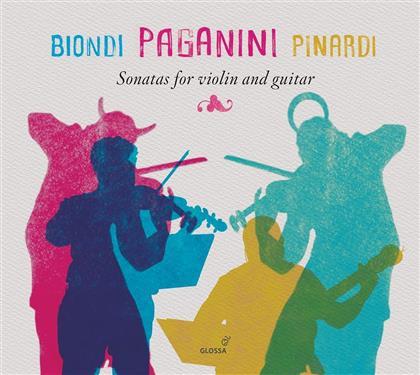 Fabio Biondi, Giangiocomo Pinardi & Niccolo Paganini (1782-1840) - Sonaten Fuer Violine & Gitarre