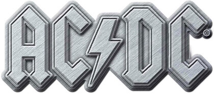 AC/DC Pin Badge - Metal Logo