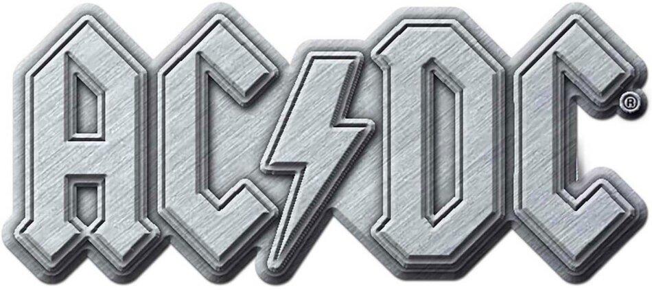 AC/DC Pin Badge - Metal Logo