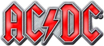AC/DC Pin Badge - Red Logo
