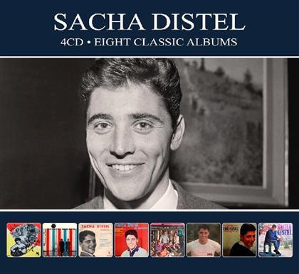 Sacha Distel - 8 Classic Albums (Digipack, 4 CDs)