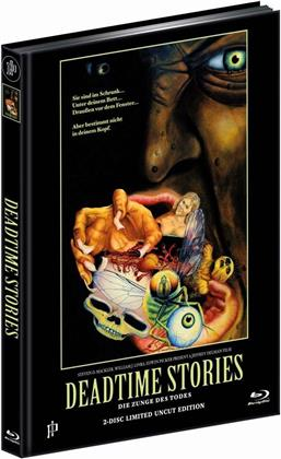 Deadtime Stories - Die Zunge des Todes (1986) (Cover B, Limited Edition, Mediabook, Blu-ray + DVD)