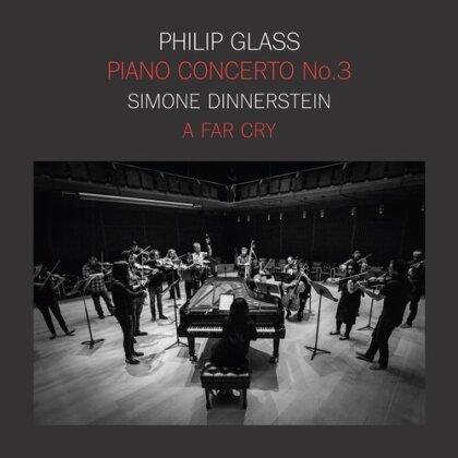 Philip Glass (*1937) & Simone Dinnerstein - Piano Concerto No.3 (Limited Edition, LP)