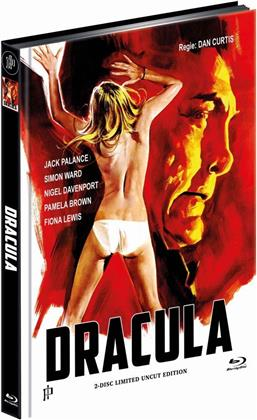 Dracula (1974) (Cover A, Limited Edition, Mediabook, Uncut, Blu-ray + DVD)