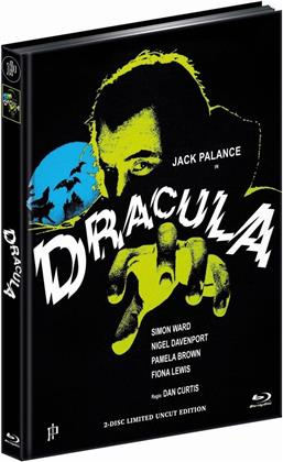 Dracula (1974) (Cover C, Limited Edition, Mediabook, Uncut, Blu-ray + DVD)