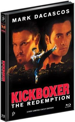 Kickboxer 5 - The Redemption (1995) (Cover A, Edizione Limitata, Mediabook, Uncut, Blu-ray + DVD)