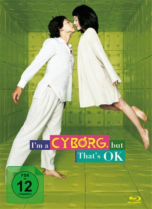 I'm a Cyborg, but that's OK (2006) (Collector's Edition Limitata, Mediabook, Blu-ray + DVD)