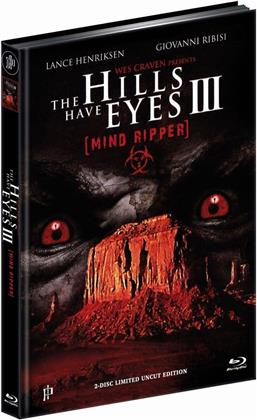 The Hills Have Eyes 3 - Mind Ripper (1995) (Cover C, Limited Edition, Mediabook, Uncut, Blu-ray + DVD)