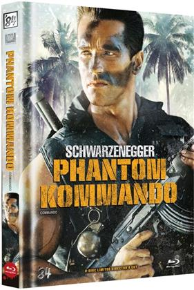Phantom Kommando (1985) (Cover C, Collector's Edition, Director's Cut, Limited Edition, Mediabook, Blu-ray + DVD)