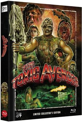 The Toxic Avenger (1984) (Cover D, Collector's Edition, Director's Cut, Extended Edition, Edizione Limitata, Mediabook, Uncut)