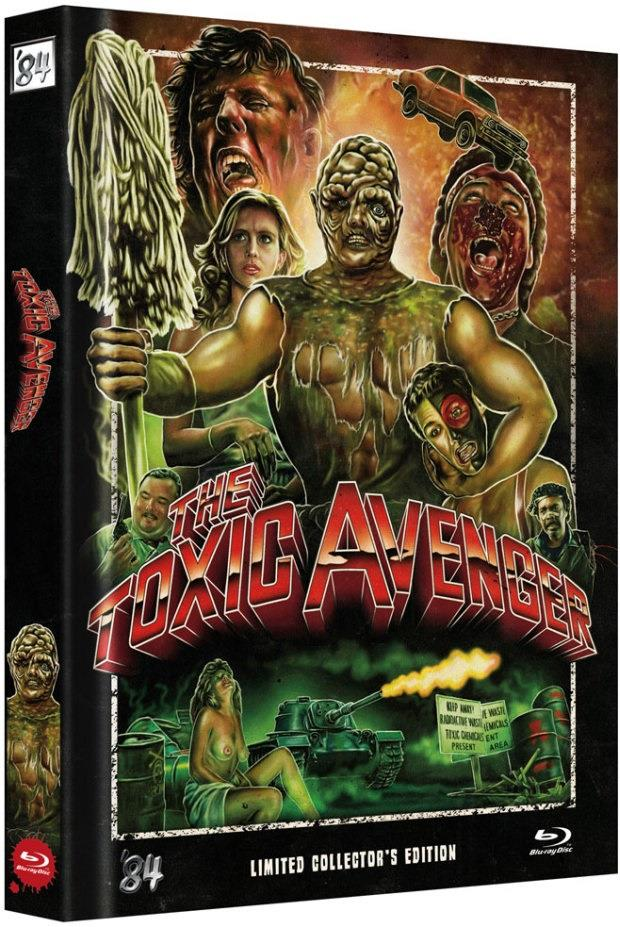The Toxic Avenger (1984) (Cover D, Collector's Edition, Director's Cut, Extended Edition, Limited Edition, Mediabook, Uncut)