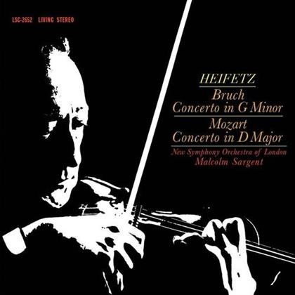 Malcolm Sargent, Max Bruch (1838-1920), Wolfgang Amadeus Mozart (1756-1791) & New Symphony Orchestra of London - Bruch - Concerto In G Minor / Mozart Concerto (LP)