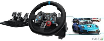 Logitech G29 Driving Force Racing Wheel and Pedal Set