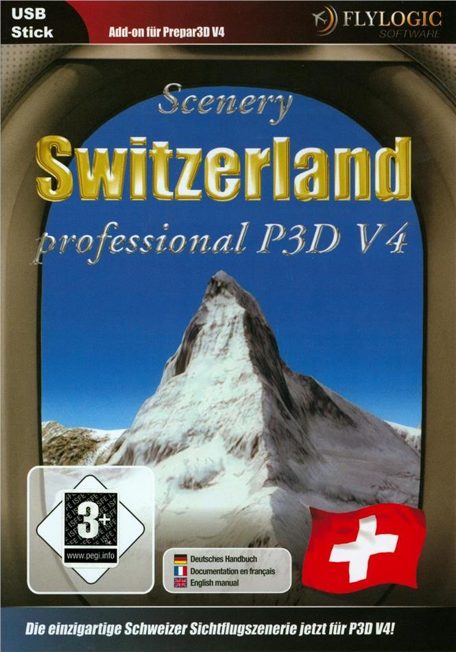 Switzerland Professional Prepar3D V4 [Add-On]
